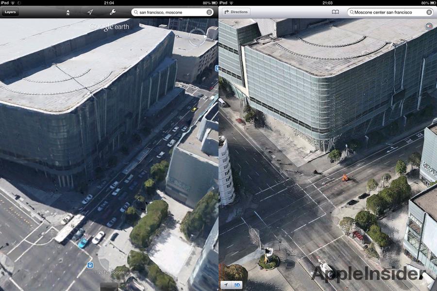 Google Maps Flyover Tour