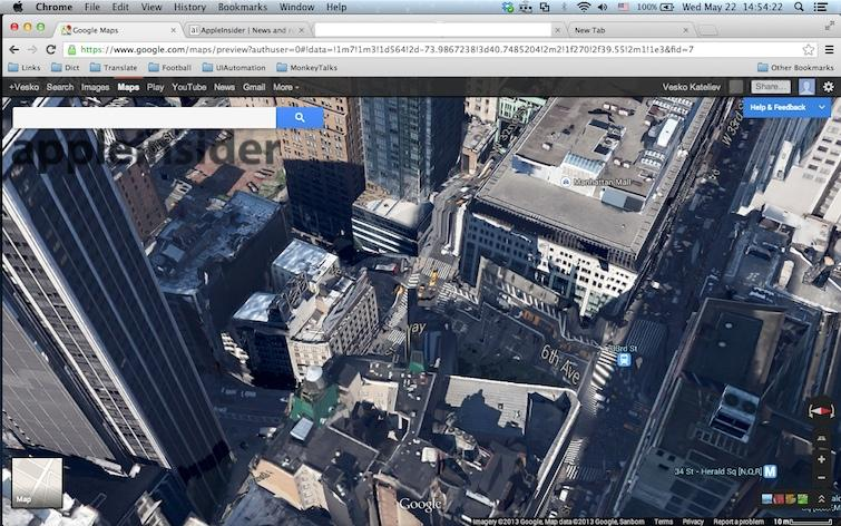 Googles new 3D Maps destroy Manhattan in the wake of Apples Flyover – Satellite Map Online
