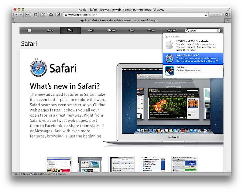 Image result for Safari Browser for Window
