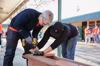 Tim Cook, Apple employees volunteer at San Jose elementary school for MLK Day