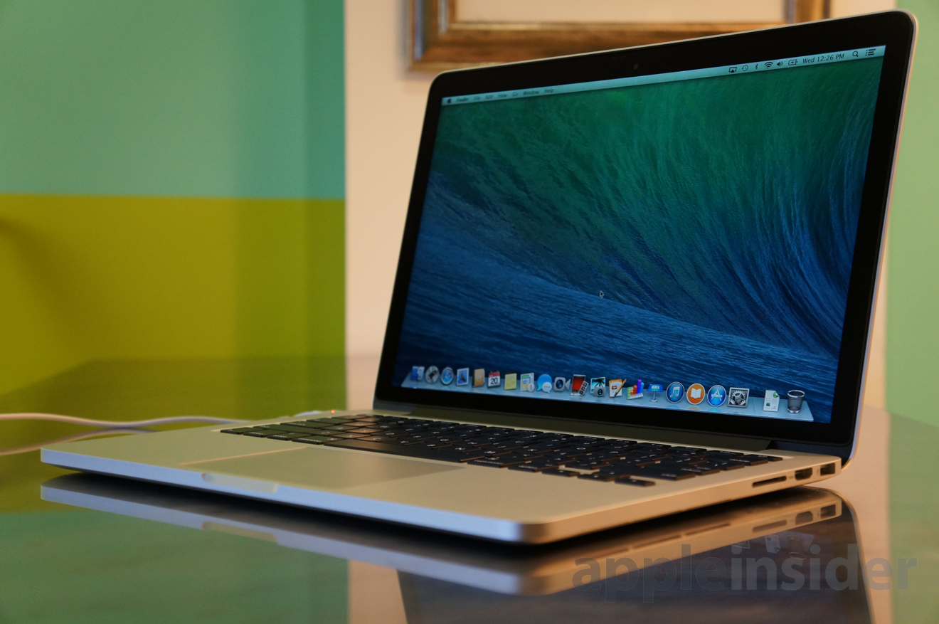 review apple 39 s mid 2014 13 inch macbook pro with retina. Black Bedroom Furniture Sets. Home Design Ideas