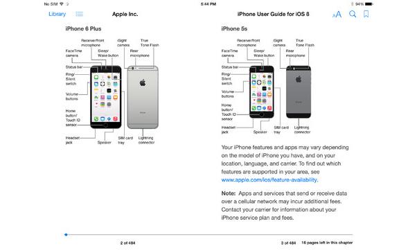Apple Iphone S Operating Manual