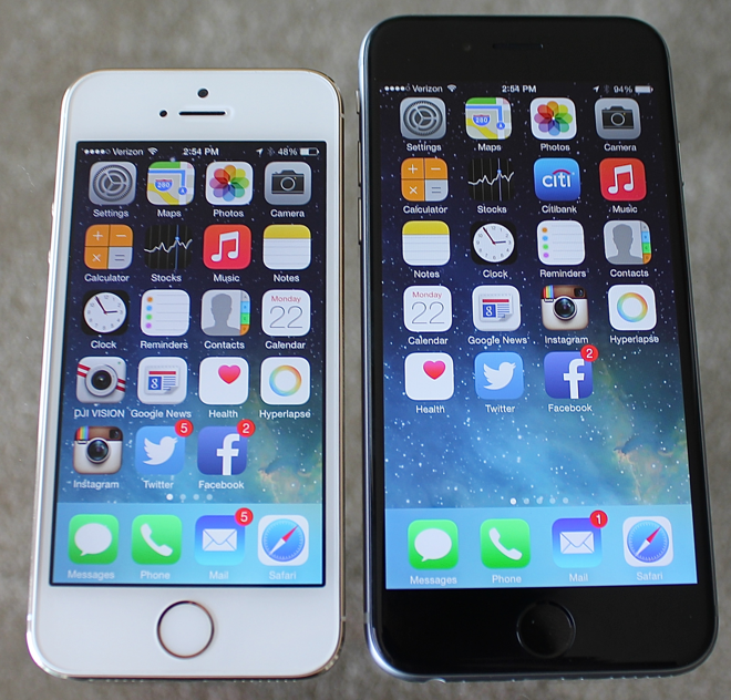 In depth Review Apples 47 inch IPhone 6 Running IOS 8