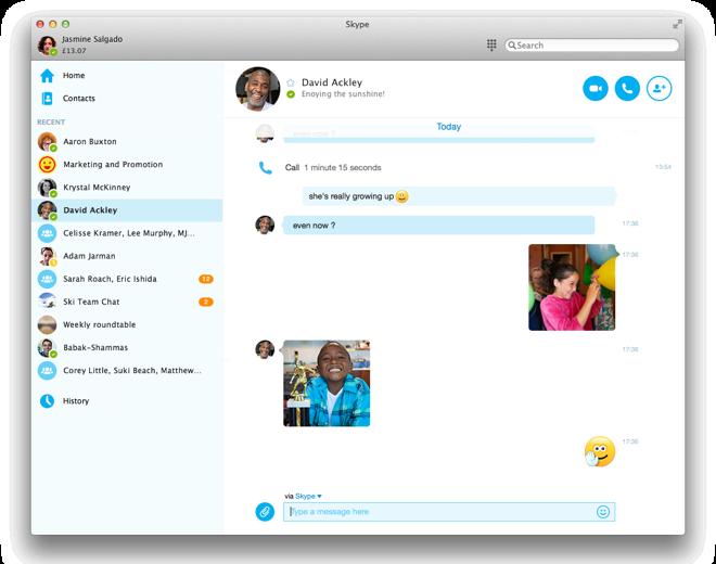 Skype для imac скачать бесплатно - фото 6