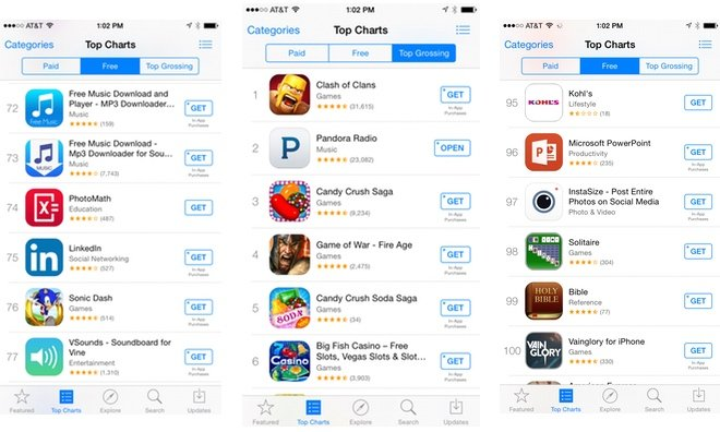 App Store Download Buttons Change From 39 Free 39 To 39 Get 39 As