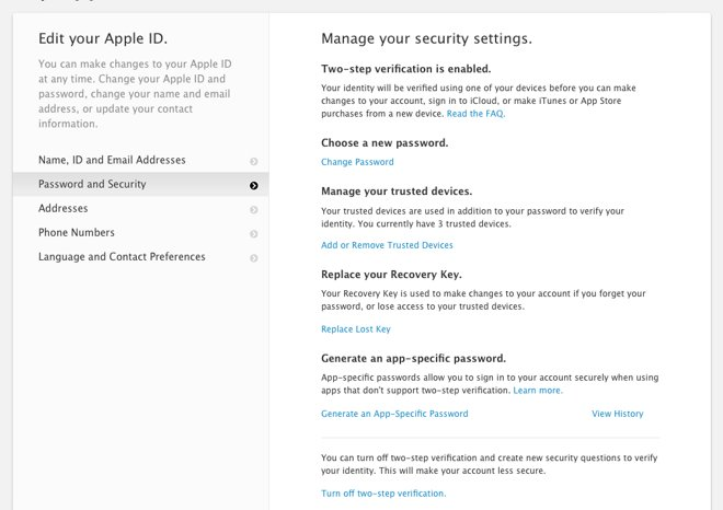 How to manage your iCloud security and Apple Pay settings from the Web