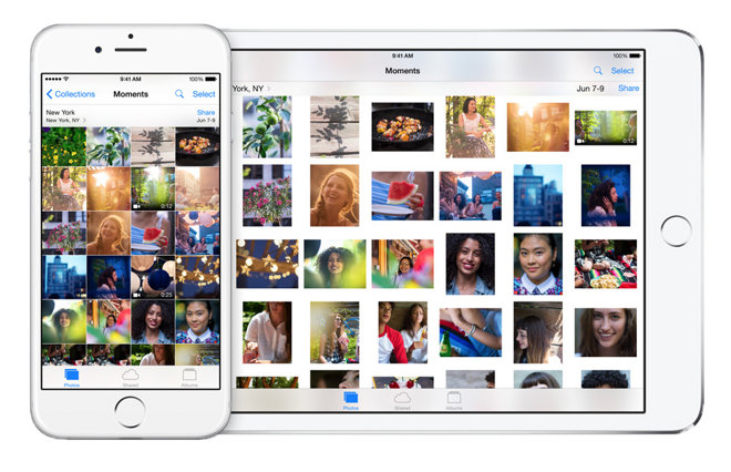 how to get apps photos from icloud iphone