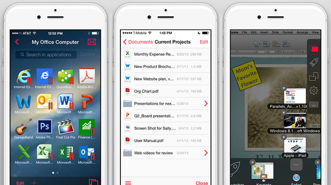 Parallels Access for iOS updated with new file manager ...