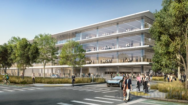 Apple Parking Garage : Apple inc campus phase plans r d facilities big
