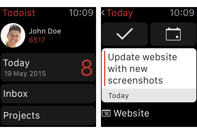 Calendar Notebook App : Todoist comes to apple watch moleskine launches timepage