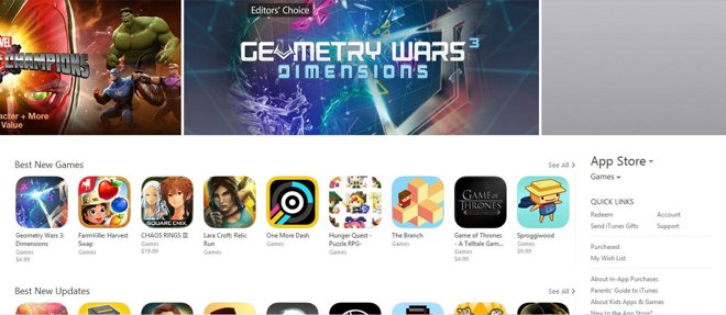 App Store's Games section revamps to concentrate</a> on curated lists