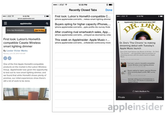 iOS tips: Reopen recently closed tabs in Apple's mobile Safari browser