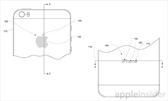 Apple investigating ways to embed health sensors, fingerprint readers, chargers into iPhone logos