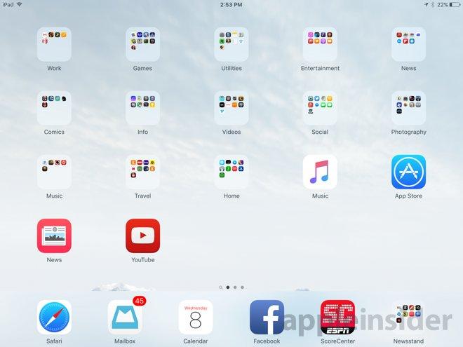Nové rozloženie záložiek, iOS 9 beta 3 - svetapple.sk