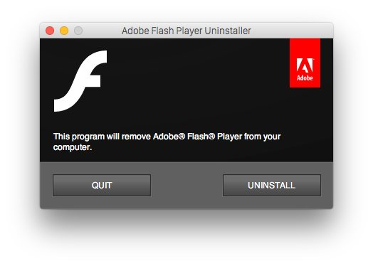 It's time to uninstall Adobe's Flash from your Mac - here's how