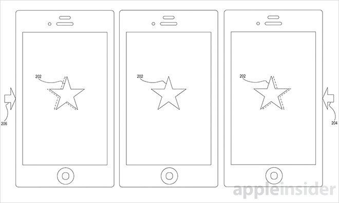 Apple získal patent na snadné pošťuchování objektů nebo kurzoru na displeji
