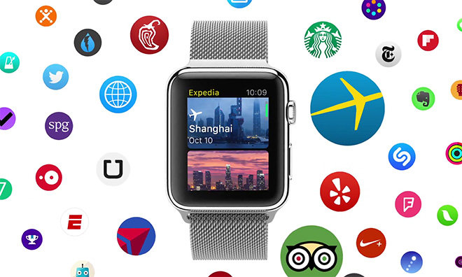 Apple's latest Apple Watch ads focus on travel, fitness and music apps