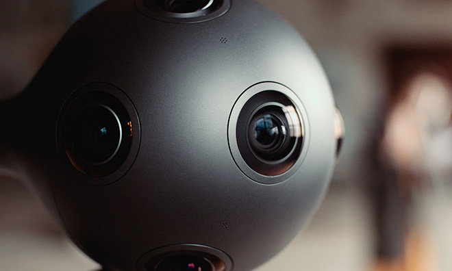 Nokia debuts Ozo 360-degree VR camera for professional filmmakers