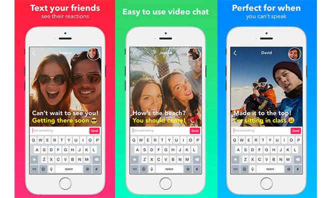 Yahoo debuts Livetext silent video messaging app
