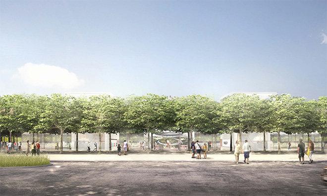 Bild zu «Apples neuere «Campus 2» hat ein Besucherzentrum»