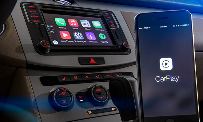 First Volkswagen models with CarPlay support to arrive at dealerships this week