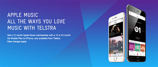 Australia's Telstra offers free Apple Music subscriptions with new iPhone 6 purchase