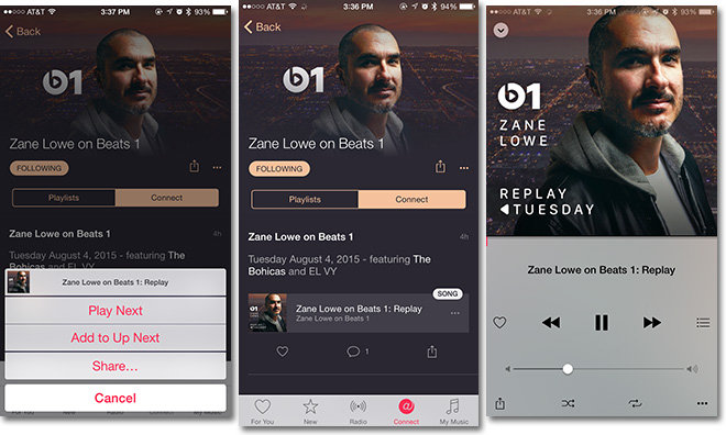 Apple's 'Beats 1: Replay' brings full show replays to Connect