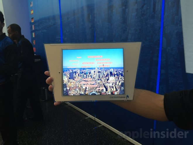 Apple's iPad is key to visitor experience at new One World Trade Center Observatory
