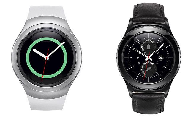 Samsung's Gear S2 smartwatch fetaures circular face, rotating bezel control
