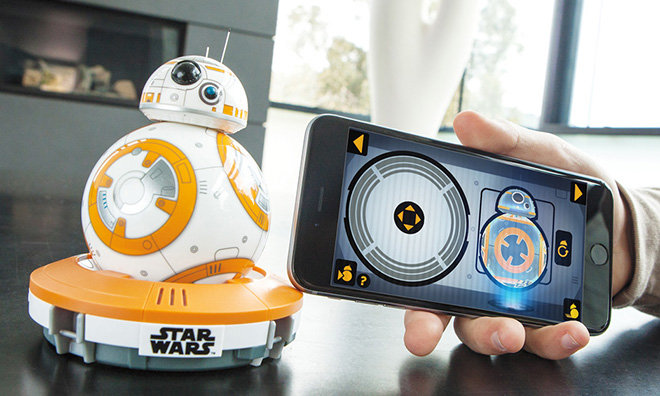 Sphero's BB-8 droid from Star Wars rolls into Apple Stores on Friday