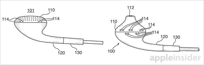 Apple chce vylepšit zvuk sluchátek senzory tlaku