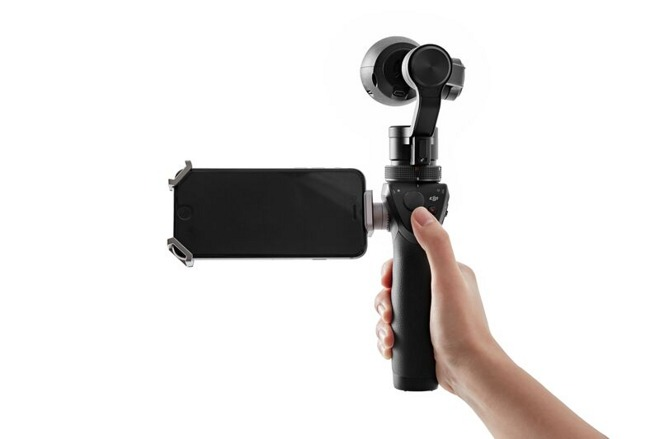 dji launches osmo an iphone connected 4k steadicam for 650. Black Bedroom Furniture Sets. Home Design Ideas