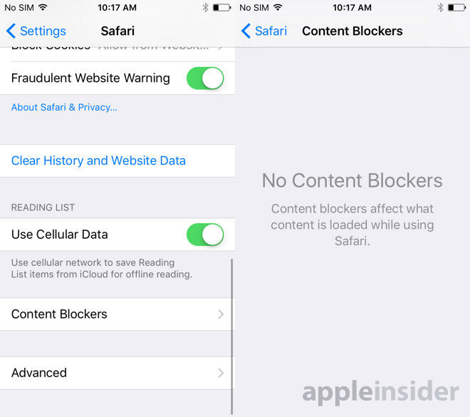 Apple removes certain content blockers from iOS App Store over security concerns
