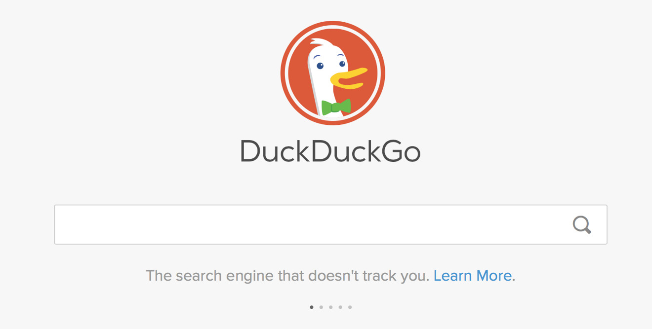 Apple search partner DuckDuckGo takes shots at Google, says tracking isn't needed to profit