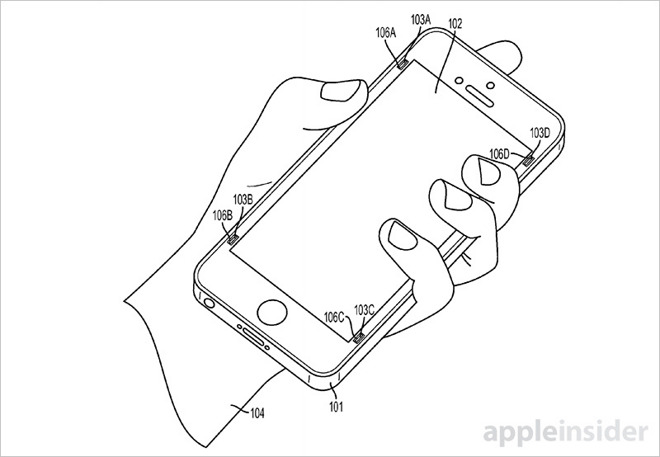 Apple si chce patentovat bláznivý nápad na ochranu displeje iPhonů při pádu
