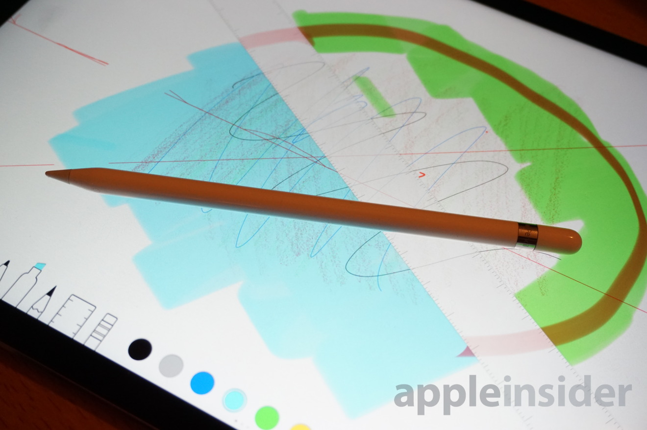 First look: Apple Pencil paired with iPad Pro is no ordinary stylus