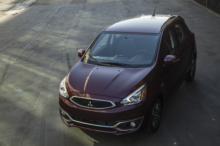 2017 Mirage will be first US Mitsubishi model with Apple's CarPlay