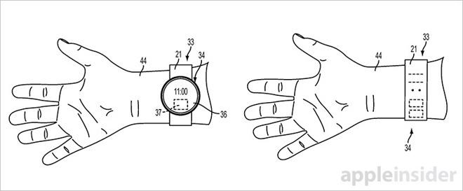 Apple žádá o patent na tkaný displej nejen pro Apple Watch