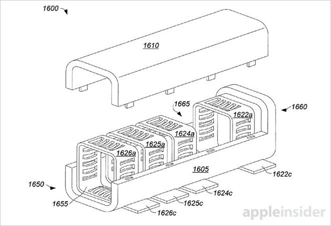 Apple plánuje prodloužit životnost konektorů pružnými elastomery
