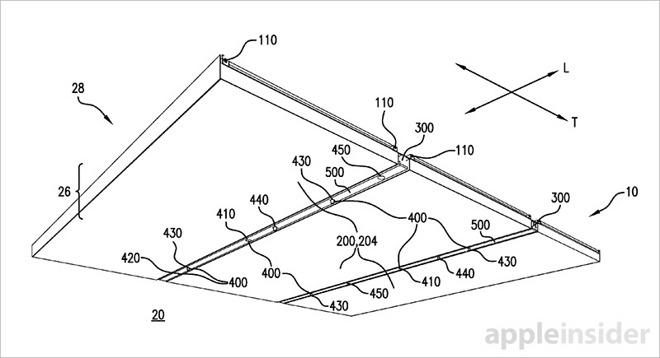 Apple získal patent na stropní osvětlení v Apple Storech nové generace