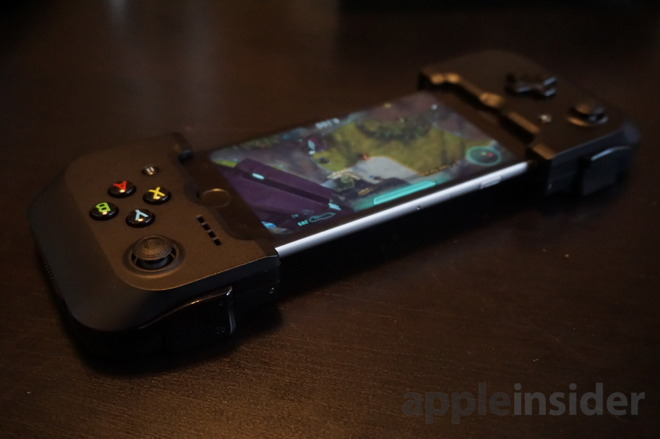 review gamevice lightning connected gaming controller for iphone is unique too expensive. Black Bedroom Furniture Sets. Home Design Ideas