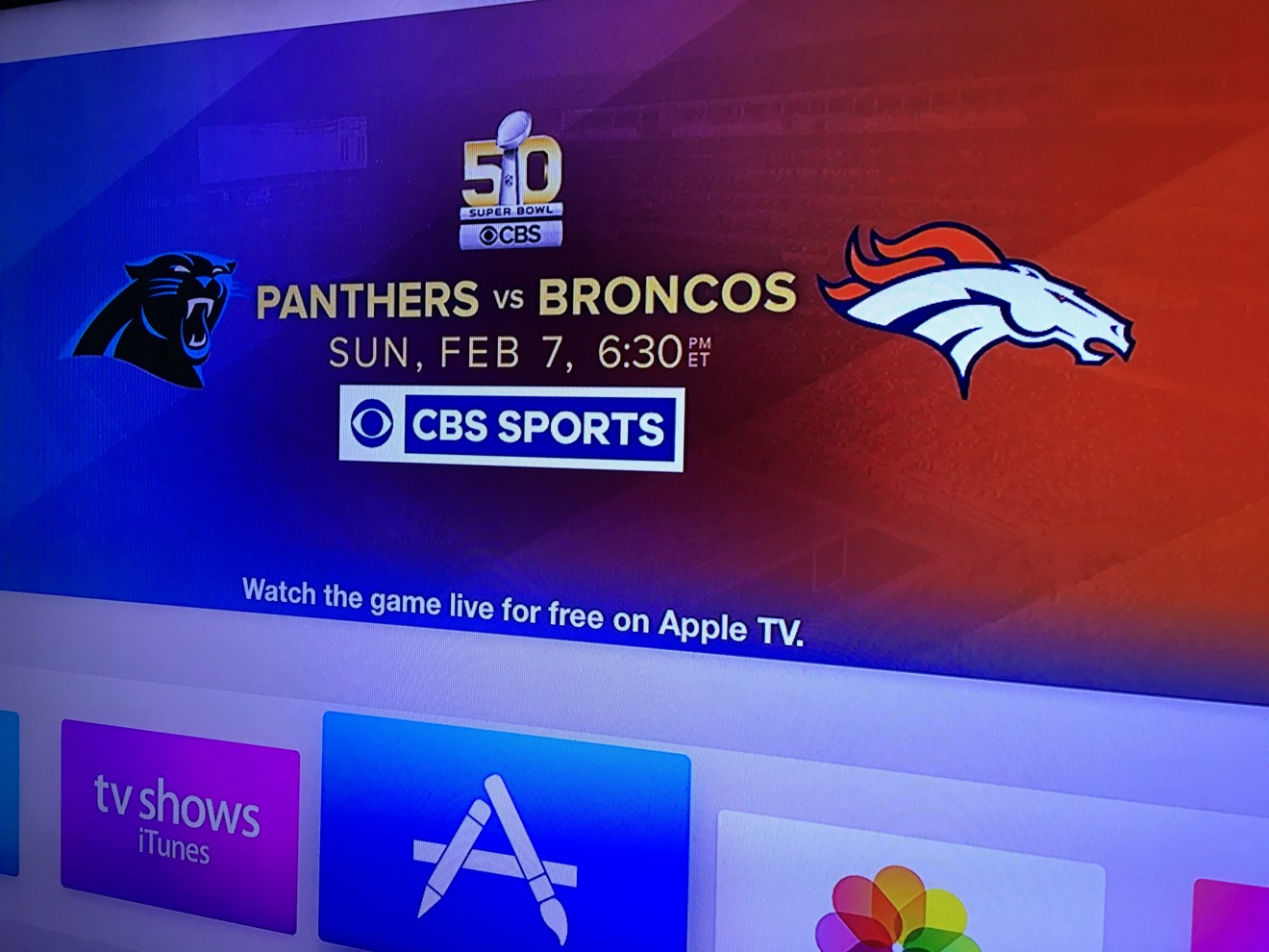 How to watch Super Bowl 50 on your Mac, iPhone, iPad, or Apple TV