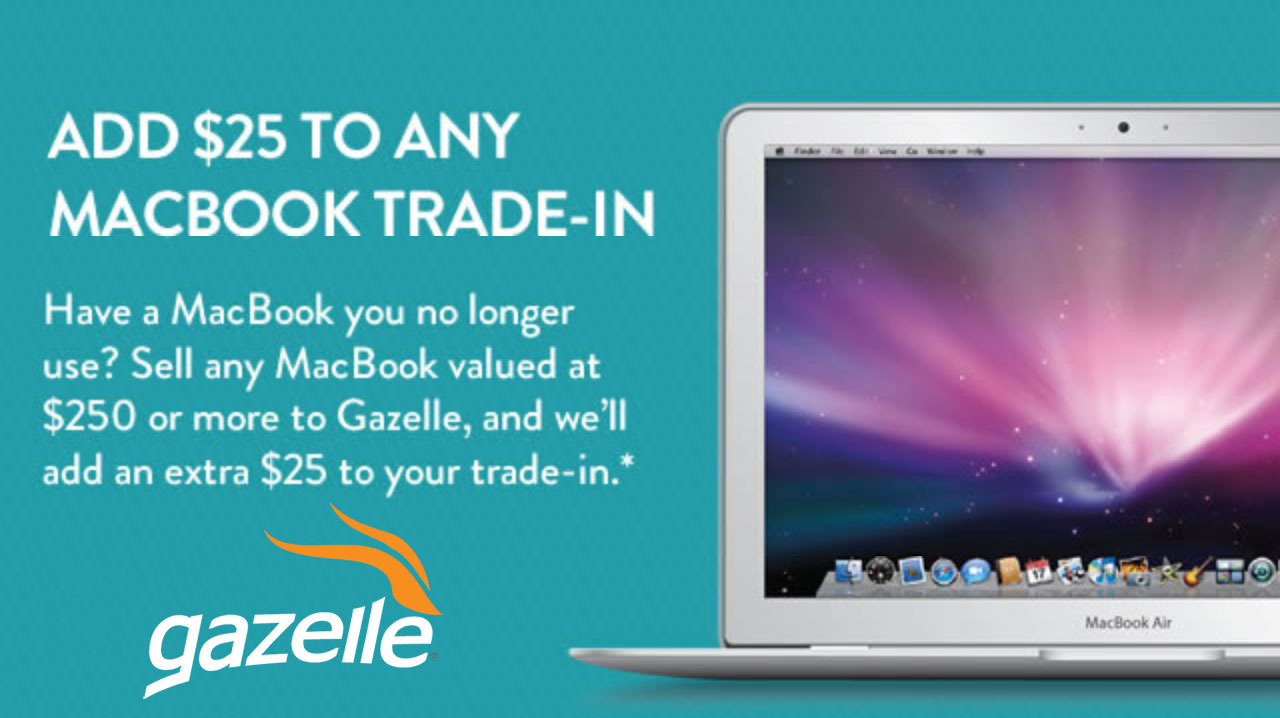 """Deals: Gazelle paying extra for old MacBooks this week; 15"""" MacBook Pro for $1,599 ($400 off)"""
