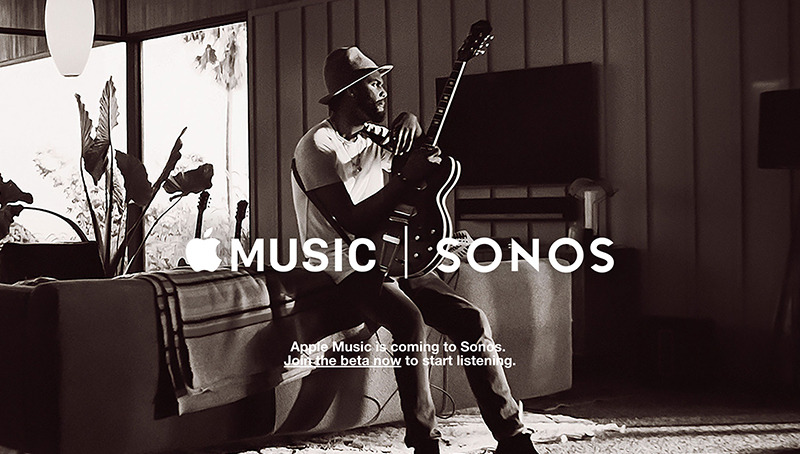 Apple Music to go live on Sonos connected speakers tomorrow
