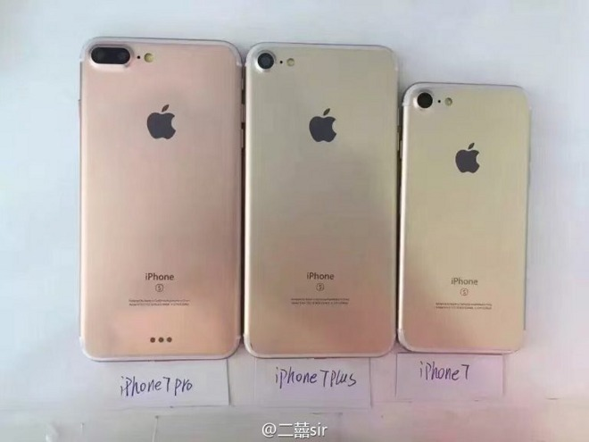 New photos claim to show three different 'iPhone 7' models ...