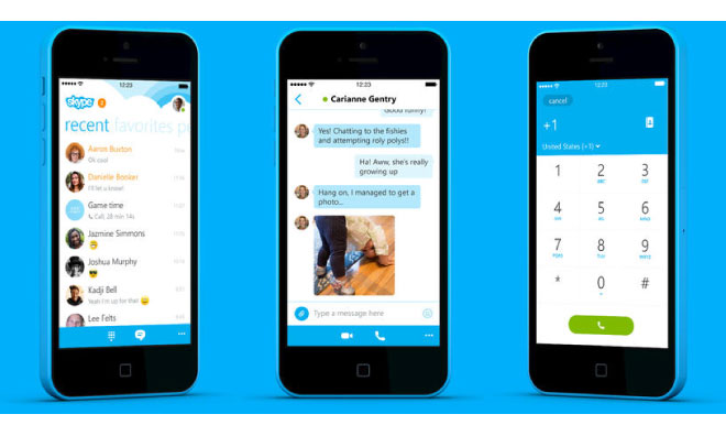 how to download skype on iphone