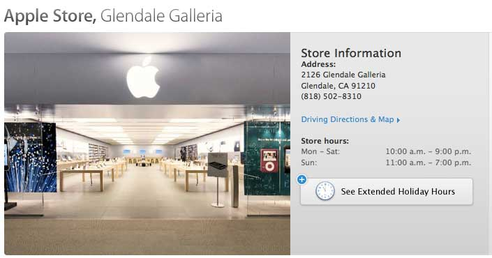 Apple 39 s first retail store is pilgrimage site for fans for Number one online shopping site