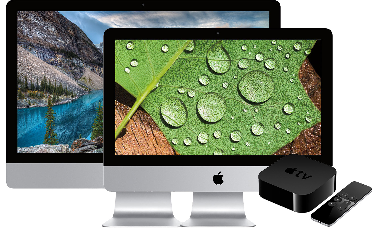 Free 32GB Apple TV and $60-$111 discounts on iMac 4Ks & iMac 5Ks, plus $150 coupons on all custom configs (or Free AppleCare)