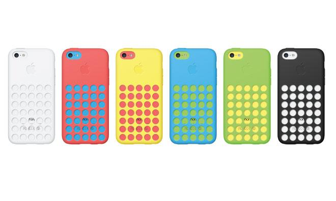 The iPhone 5c cases will be