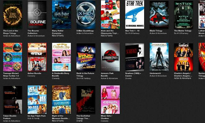 how to get to rented movies on itunes